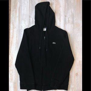 NWOT Men's Lacoste Sport Hooded ZIP Sweatshirt